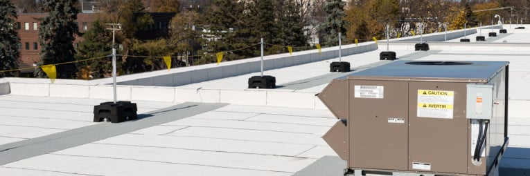 Permanent warning line | Bump line for roof
